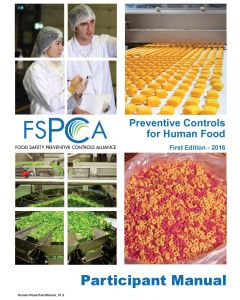 FSPCA Human Food Participant Manual V1.2
